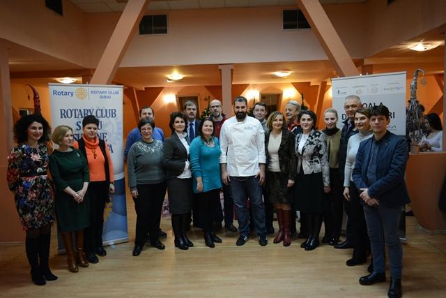 Eveniment Caritabil Organizat De Facultatea De Științe Agricole, Industrie Alimentară și Protectia Mediului Din Sibiu ,chef Adi Hădean și Asociația Rotary Club Sibiu