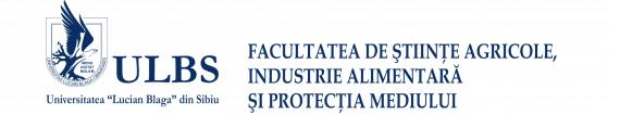 Facultatea de Stiinte Agricole, Industrie Alimentara si Protectia Mediului
